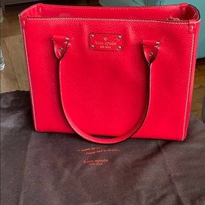 Kate Spade New York Wellesley Quinn red purse